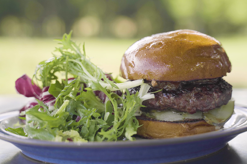 Trenchmore Farm's Wagyu beef burger