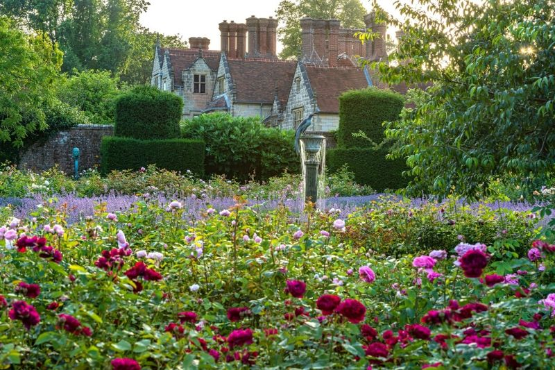 Borde Hill Rose Garden