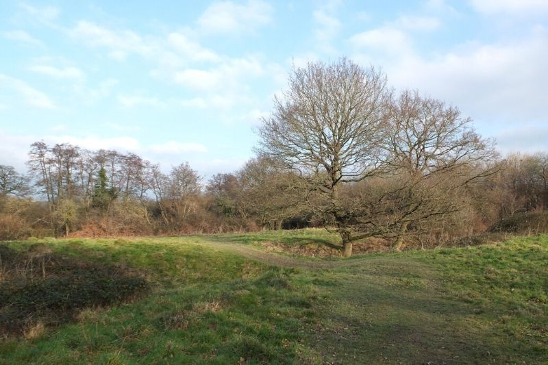 North Horsham Motte and Bailey castle