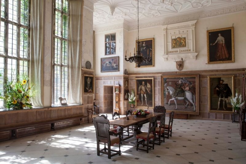The great hall at Parham House