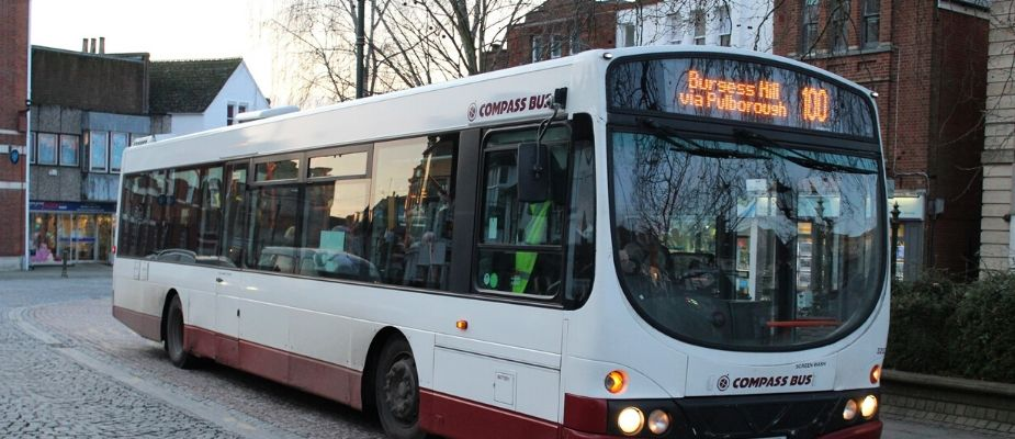Compass Bus in Steyning