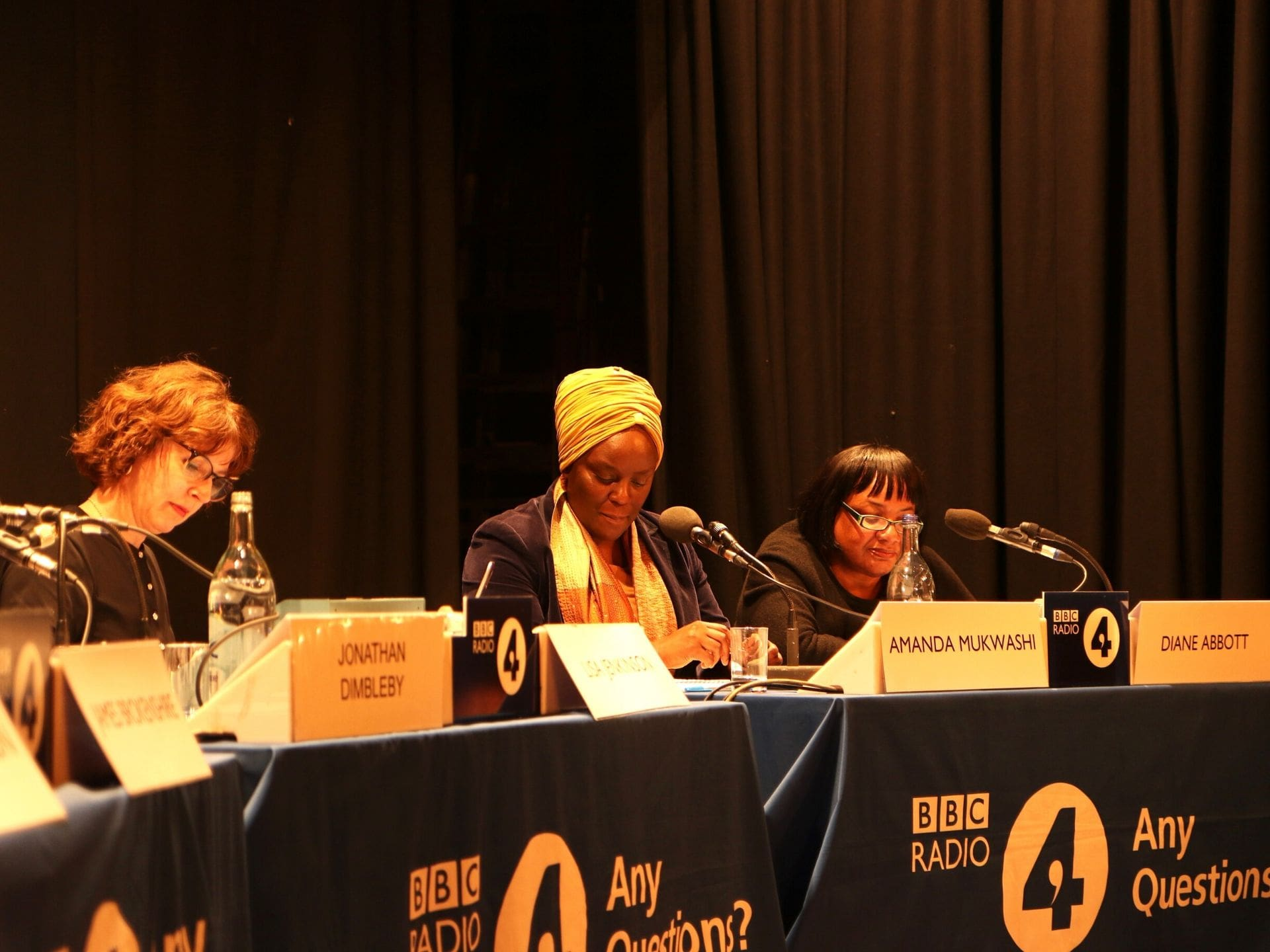 A panel discussion for Radio 4